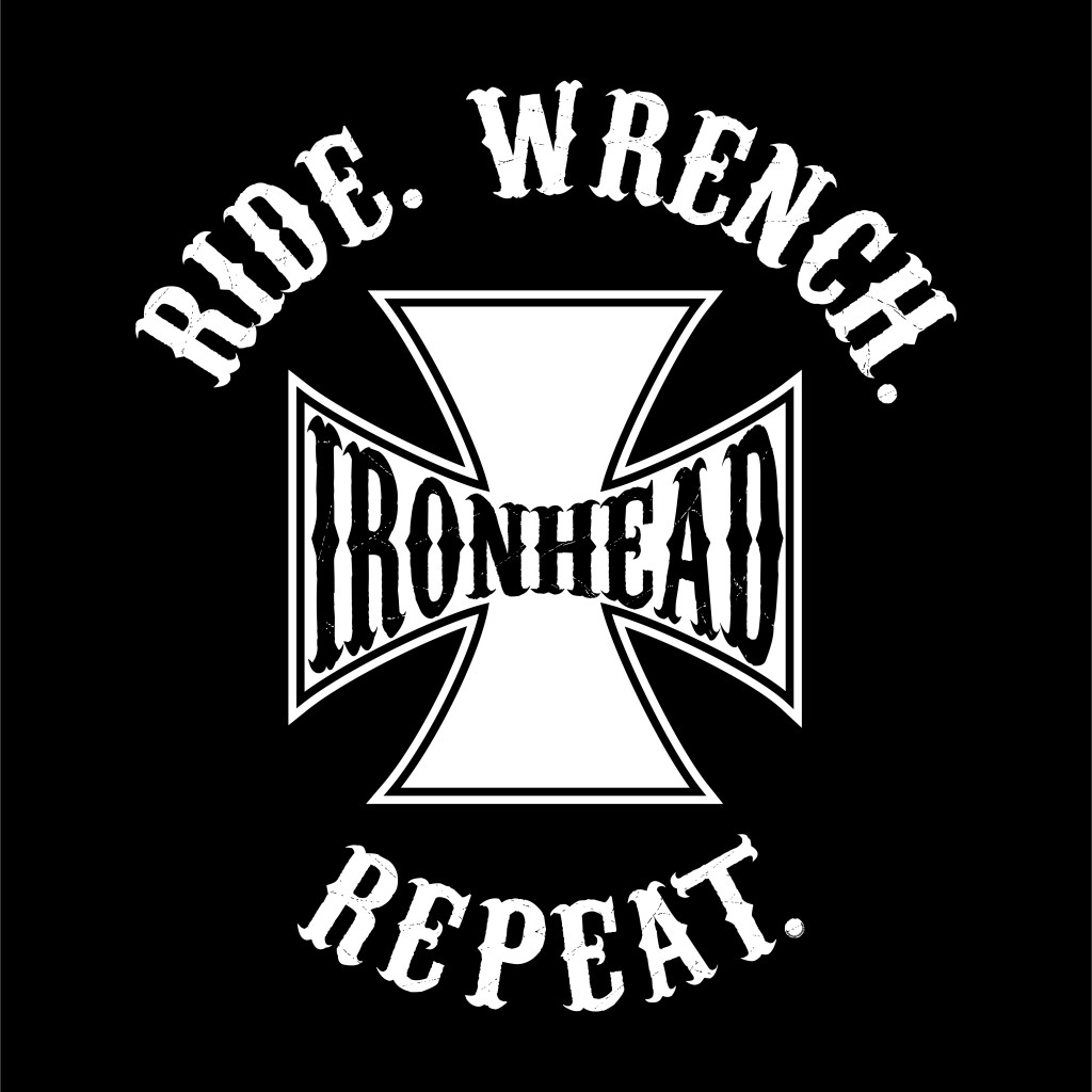 RIDE WRENCH REPEAT- IRONHEAD graphic