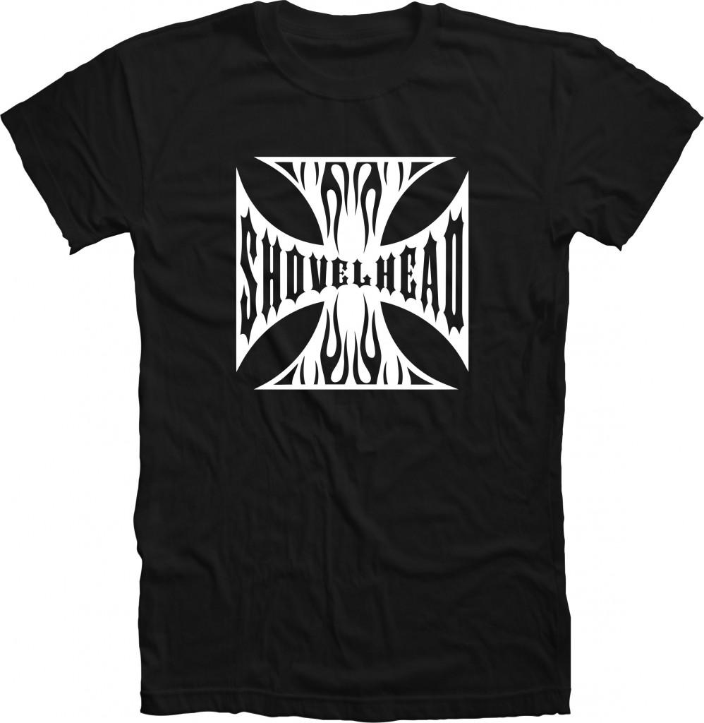 SHOVELHEAD FLAMES shirt
