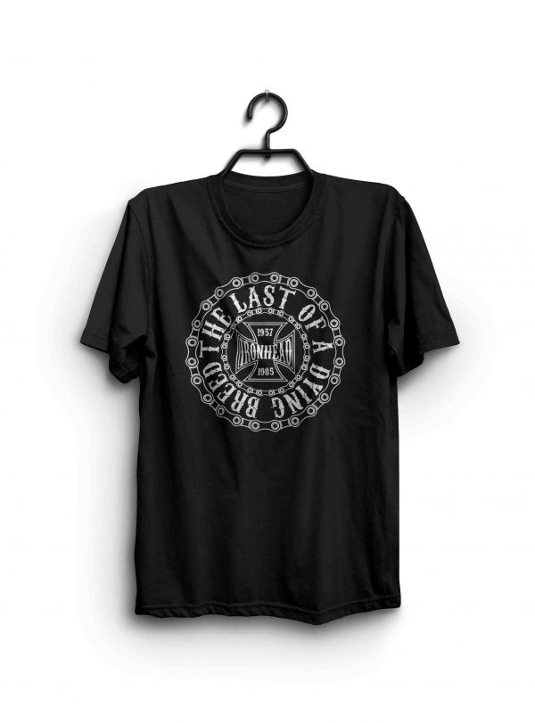 The Last of a Dying Breed Ironhead Sportster Shirt