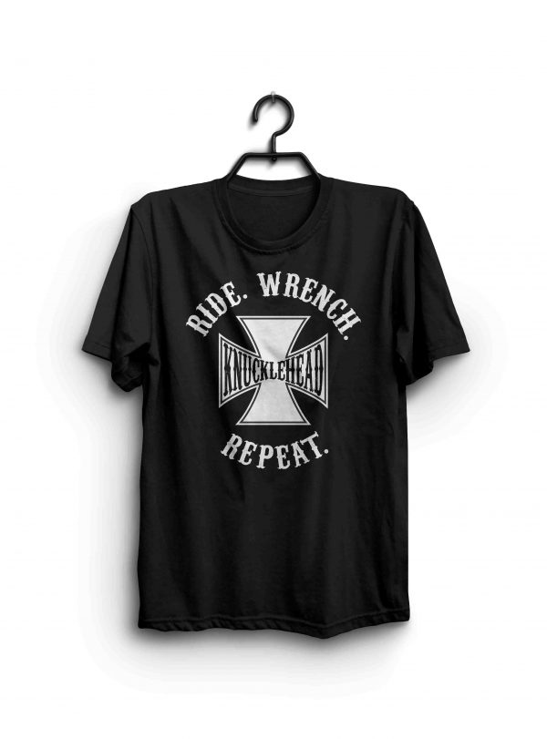 Ride Wrench Repeat Knucklehead shirt