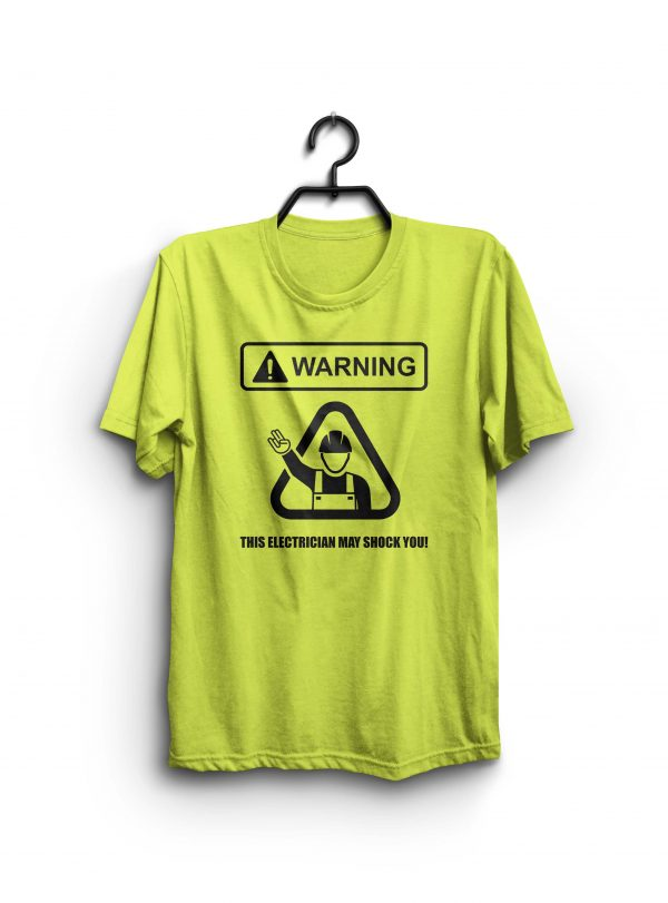The Shocker electrician shirt