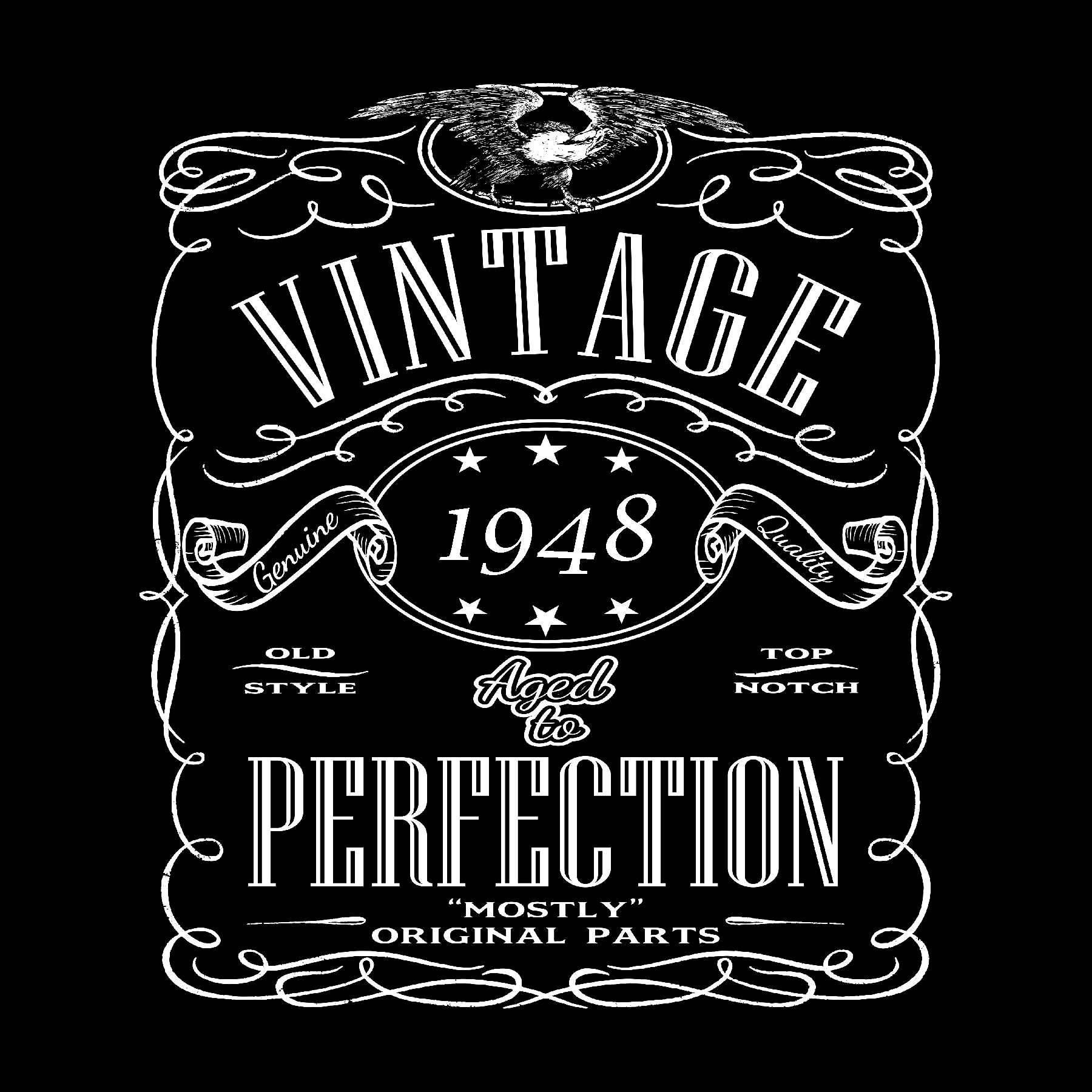 Born In 1948 Birthday Shirt
