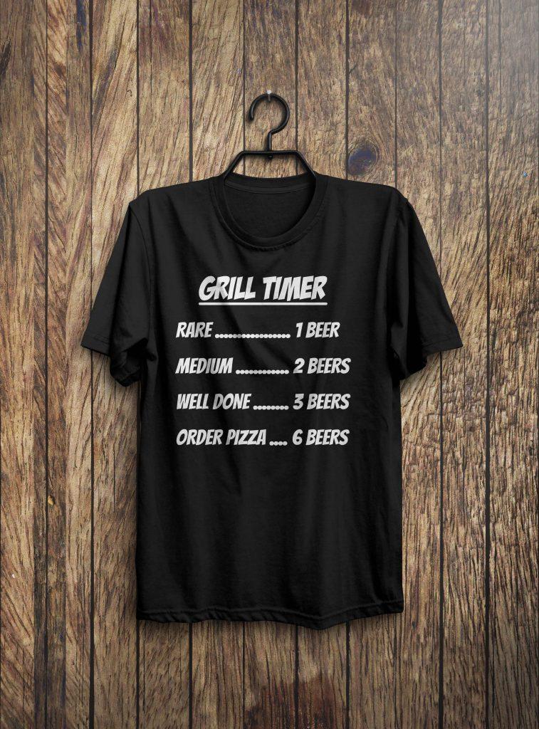 Grill Timer Shirt Bbq Shirt Grill Shirt Funny Bbq