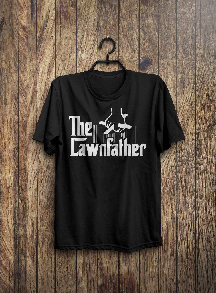 The Lawnfather Funny Mowing Shirt Funny Dad Shirt